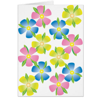 Cheerful Flowers Card