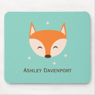 Cheerful Fox Mouse Pad