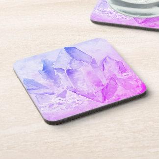 *~* Cheerful Fun Amethyst Chakra Crystal Drink Coaster