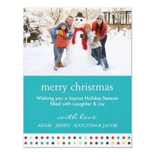 Cheerful & Fun Christmas Photo Card