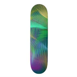 Cheerful Fun Color Abstract 3 Custom Skateboard