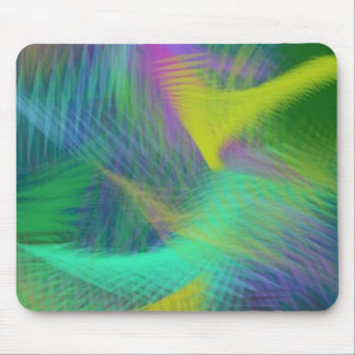 Cheerful Fun Color Abstract Mouse Pad