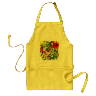 Cheerful Garden Colors Adult Apron