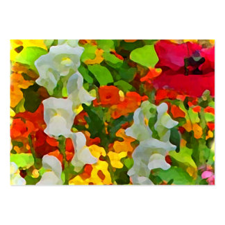 Cheerful Garden Colors ATC Business Card Templates