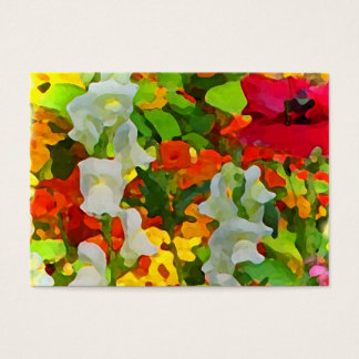 Cheerful Garden Colors ATC Business Card