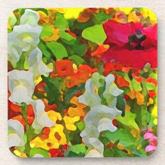 Cheerful Garden Colors Coaster