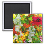 Cheerful Garden Colors Magnets