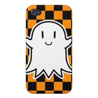 Cheerful Ghost iPhone 4/4S Cases