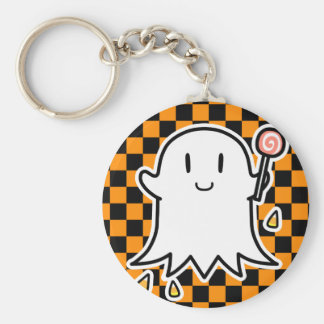 Cheerful Ghost Keychain