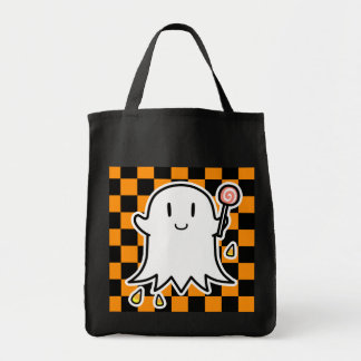 Cheerful Ghost Tote Bag