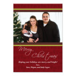 Cheerful Gifts Photo Christmas Card Announcements