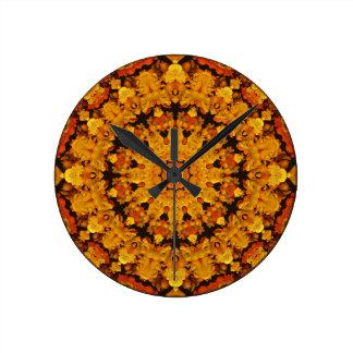 Cheerful Mandala Clock