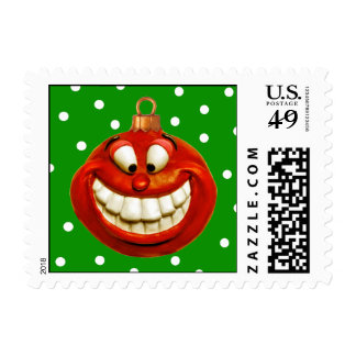 Cheerful Ornament Postage