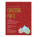 Cheerful Ornaments Party Invitation