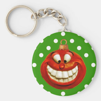 Cheerful Orniment Keychain