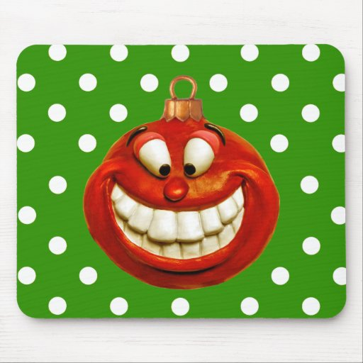 Cheerful Orniment Mouse Pad