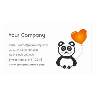 Cheerful Panda Business Card
