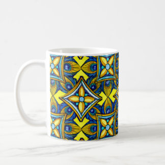 Cheerful Pottery Pattern Mugs