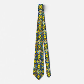 Cheerful Pottery Pattern Neck Tie