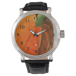 Cheerful Pumpkin Wrist Watch