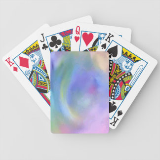Cheerful Rainbow Blend Abstract Bicycle Playing Cards