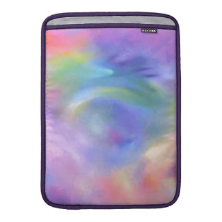 Cheerful Rainbow Blend Abstract Sleeve For MacBook Air