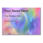 Cheerful Rainbow Blend Abstract Large Business Cards (Pack Of 100)