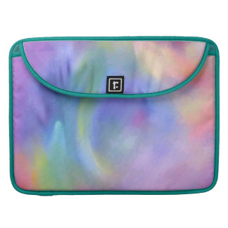 Cheerful Rainbow Blend Abstract Sleeve For MacBook Pro