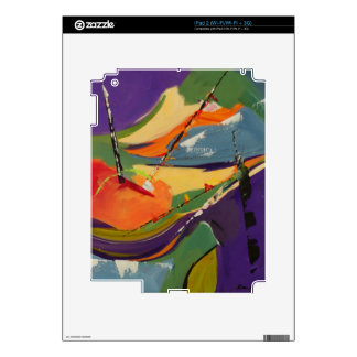 Cheerful Regatta Decal For iPad 2