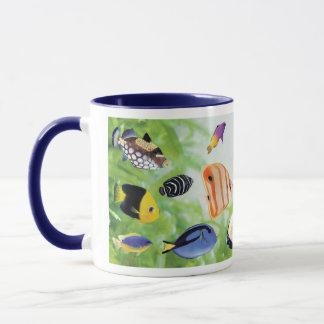 Cheerful seawater fish mug