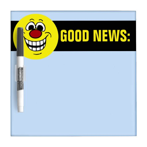 Cheerful Smiley Face Grumpey Dry Erase Whiteboards