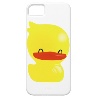 Cheerful Smiling Ducky iPhone Case