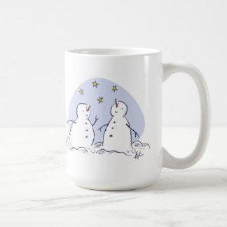 Cheerful Snowfolk Mug
