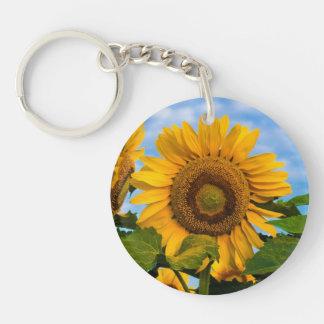 Cheerful Sunflower keychain