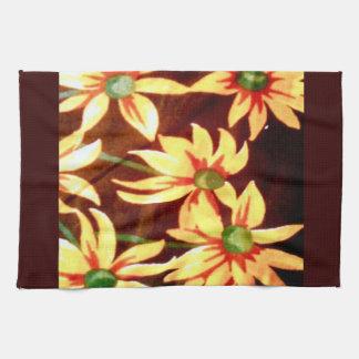 Cheerful Sunflowers Hand Towel