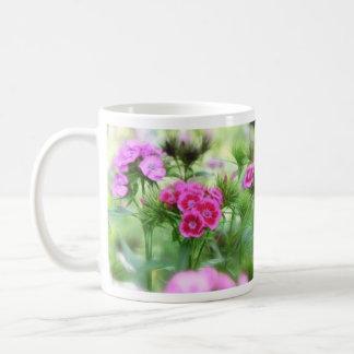 Cheerful Sweet William Flowers Coffee Mug