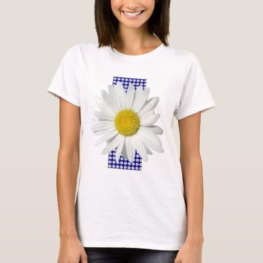Cheerful White Daisy Shirt