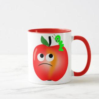 Cheerful worm mug