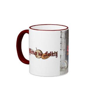 "Cheerfully to Folkig cup ""volume photo "" Coffee Mug"