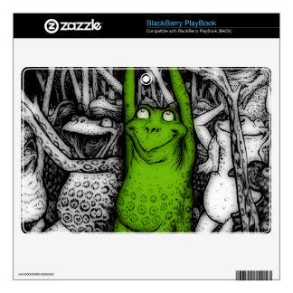 Cheering Frogs BlackBerry PlayBook Skin