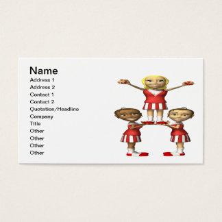 Cheering Pyramid Business Card