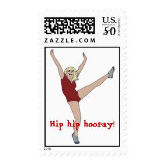 cheering stamp
