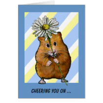 Cheering You On in Fight Against Cancer: Hamster