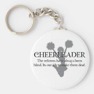 cheerleader1 keychain