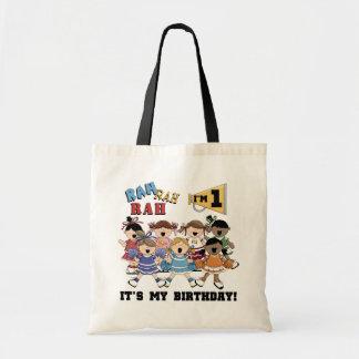 Cheerleader 1st Birthday Tshirts and Gifts Tote Bag