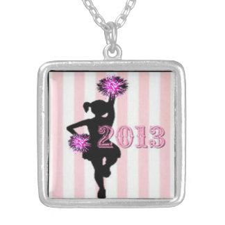 CHEERLEADER 2013, original art cheer pendants