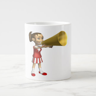 Cheerleader 3 jumbo mugs