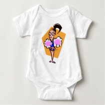 Cheerleader Baby Bodysuit