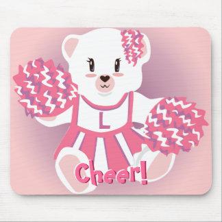 Cheerleader Bear Mousepad