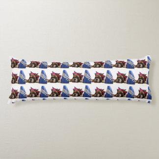 Cheerleader boxer dog body pillow